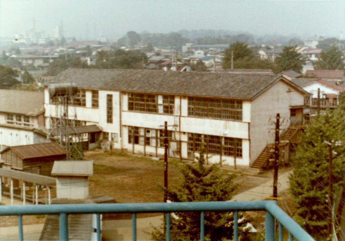 1971年の豊多摩 建物