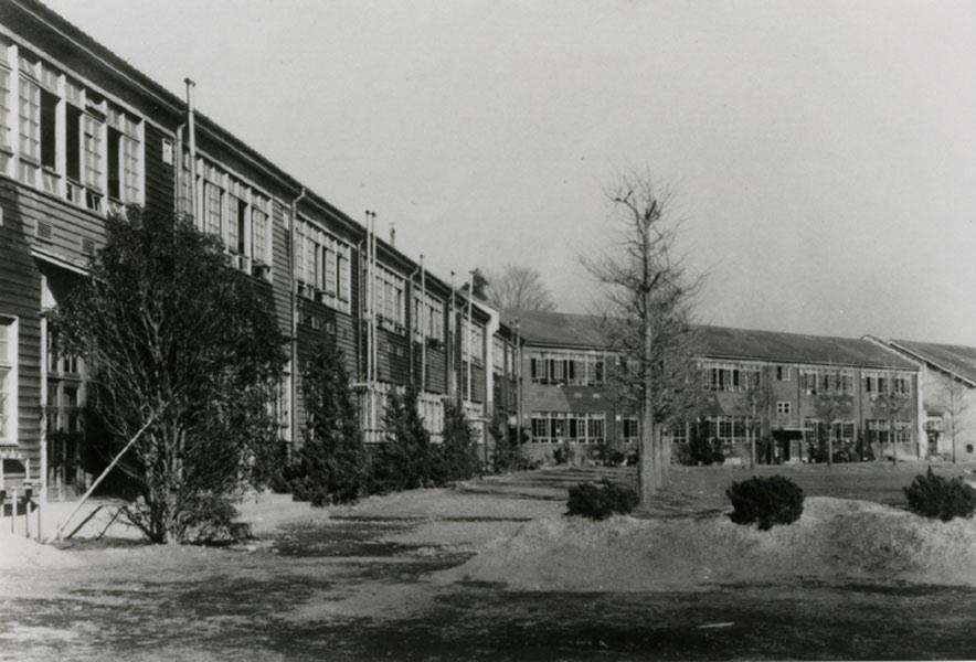 木造校舎 年代不詳